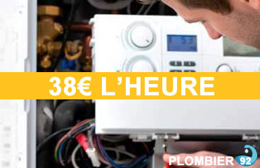 plombier moins cher 92